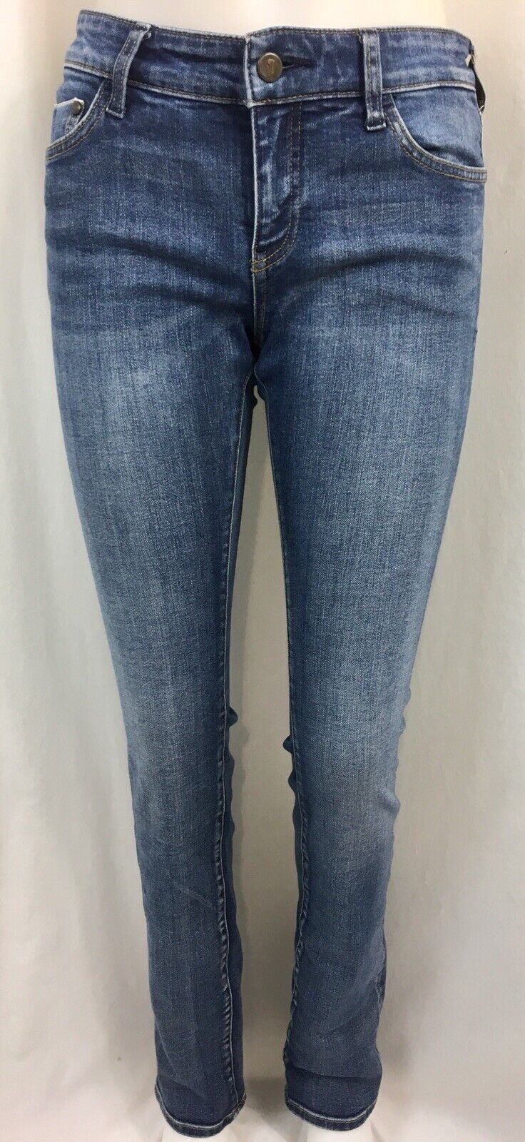 Pilcro and the Letterpress  Parallel  Straight Leg Jeans, Women's Size 27