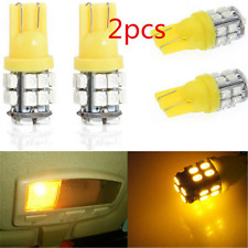 2PCS 12V T10 20SMD LED W5W 194 168 501 Car Auto Side Wedge Light Bulb Amber