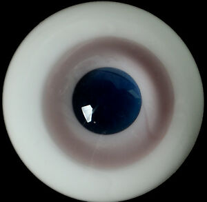 New 14mm LightPink Glass Round BJD Eyes for MSD DOD DZ AOD Volks Iplehouse Doll