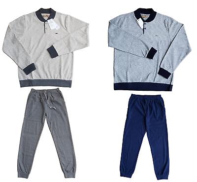 Mod Ferrucci Mix Cashmere Sensible Man Pajamas Winter Derby 3603 Madeira