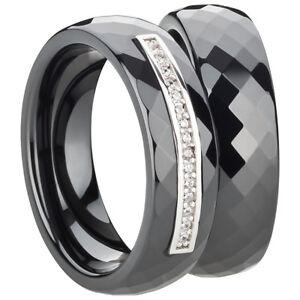 Partnerringe-in-Ceramic-Silber-925-rhodiniert-Freundschaftsring-Ehering-Ring