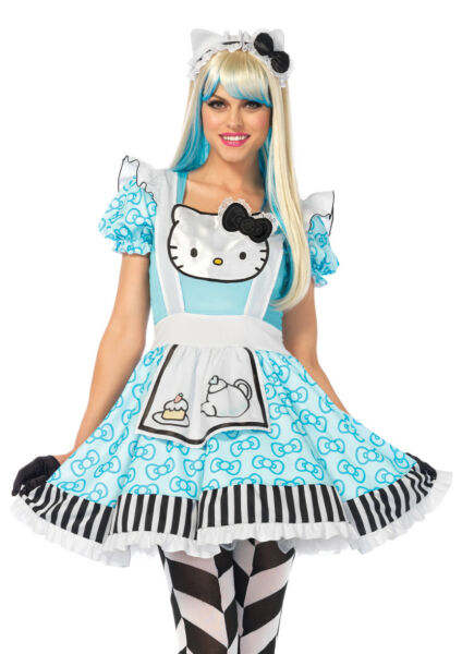 Sanrio Kero Keroppi Cozy Hello Kitty Anime Adult Costume 3 sizes Leg Avenue