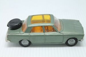 CORGI-TOYS-ROVER-2000-TC-1-43-GREEN-METALLIC-ORIGINAL-GOLDEN-JACKS