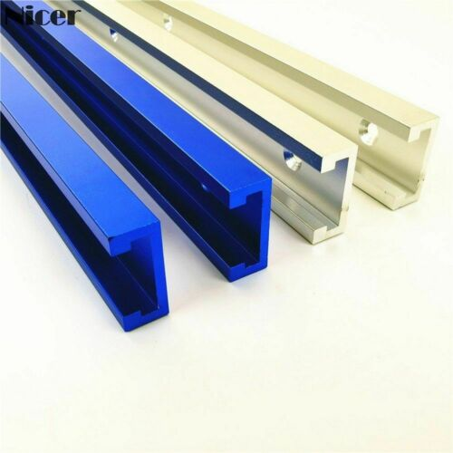 Aluminium Alloy T-track Slot Woodworking Tools Saw Miter Slider Fixture Jig Wood