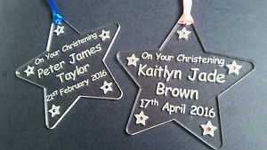 Hand-made-acrylic-engraved-Christening-star-keepsake-gift-personalised