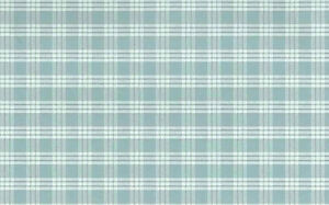 Image Is Loading Wallpaper Blue Plaid Country Cottage White Waverly Like