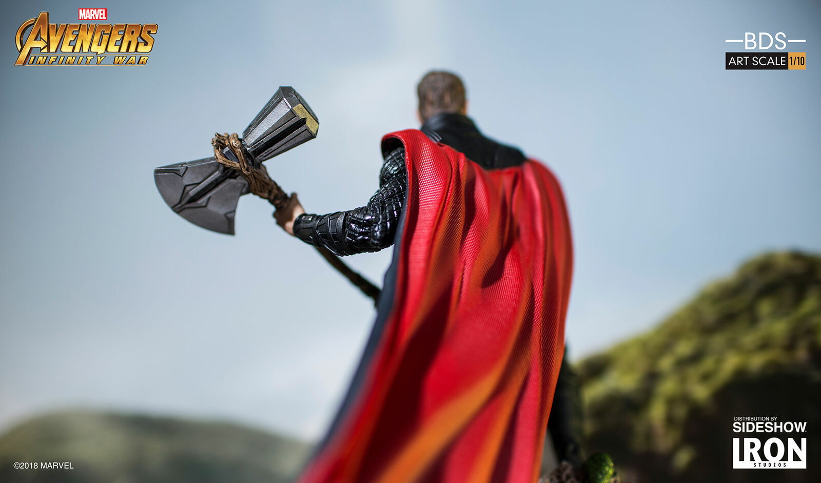 Marvel Thor Avengers Avengers Avengers Infinity Guerra Art Scale Statue 1 10 Iron Studios Sideshow 7bb087