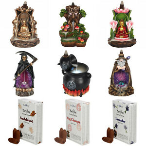 Backflow-Burners-and-Incense-Cones-Buddha-Ganesh-Dragon-Wizard-Back-Flow-Holders
