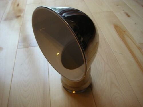 """SAILBOAT DORADE COWL VENTS ABI STAINLESS STEEL 3/"""" x 10/"""" With Deck Plate NEW"""
