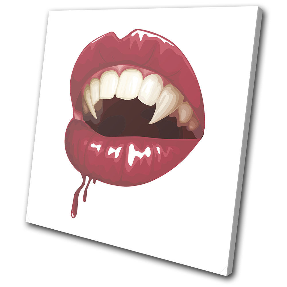 Illustration Pop Art  Lips  impresion SINGLE LONA pa rojo  arte Foto impresion  0e6c54
