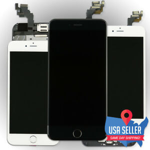 separation shoes 67ebe 64ad8 Details about US LCD Touch Screen Digitizer Display Assembly + Button  Camera for iPhone 6 Plus