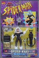 Spiderman SPIDER WARS BLACK CAT WITH CAT SCRATCHING CROSSBOW TOYBIZ BONUS PIN