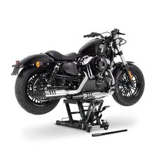 Motorrad Hebebühne ConStands Mid-Lift L schwarz Montageständer Motorradheber
