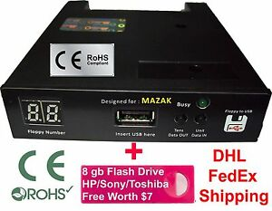 Details about Floppy Drive to USB Converter for MAZAK EDM + free 8 GB Flash  Drive