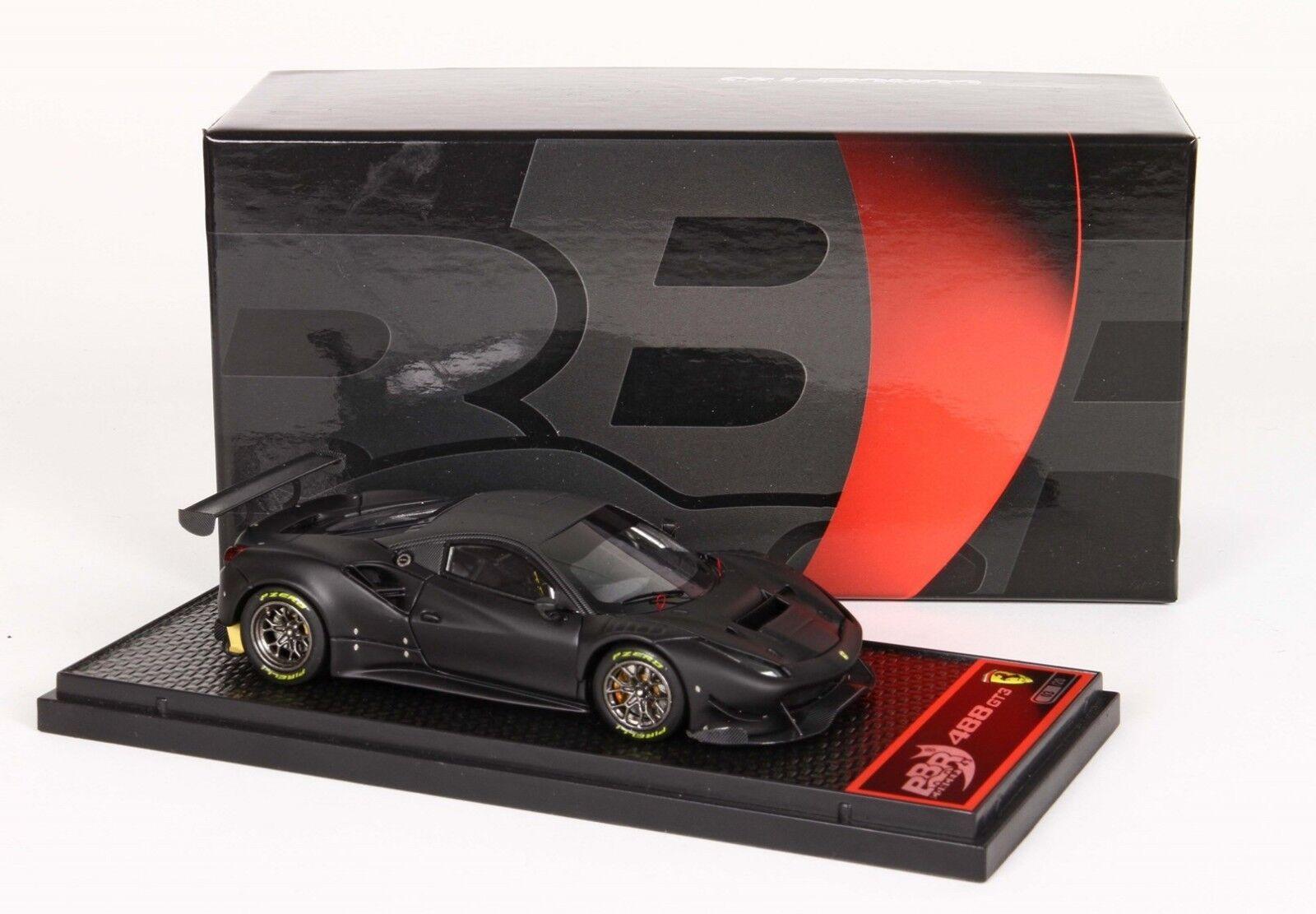 ventas en linea Ferrari 488 GT3 Matt Negro    lim.ed. 20 pcs BBRC180MB1 BBR Models  autorización