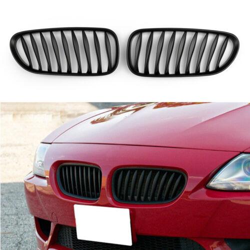 Front Bumper Sport Kidney Grille Parrilla de calandre Pour BMW Z4 E85 E86 08 M F