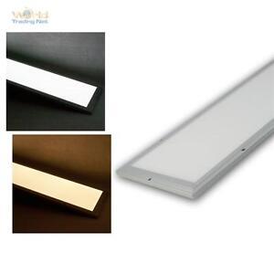 led panel 120x30cm kaltwei warmwei mit fernbedienung wechseln und dimmbar ebay. Black Bedroom Furniture Sets. Home Design Ideas