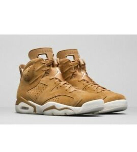 new product 82e09 6bc52 Details about Air Jordan 6 Retro Golden Harvest Wheat 384664-705 w/Receipt  Size 8-12