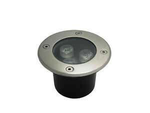 Image Is Loading 10 X 3w Led Outdoor Inground Garden Path