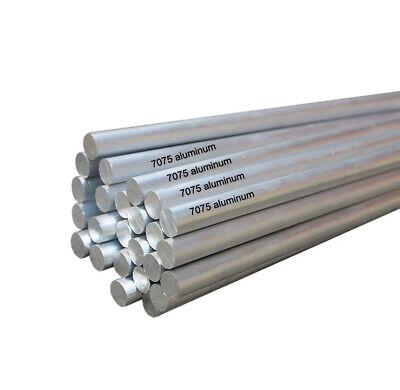 205mm long aluminum rod bar 6061 AL solid stick baton 12.5//13//14//15//16//17//18//19