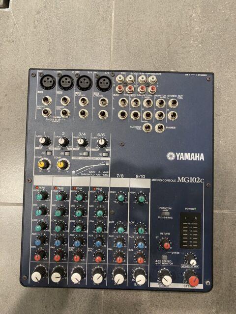 YAMAHA MG102c - AUDIO 10 CHANNEL MIXING CONSOLE