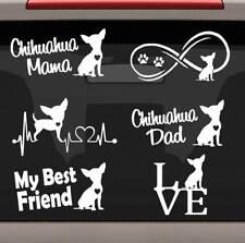 7-Count Corgi Mom Dad Dog Decal Sticker for Car Window BG 272