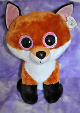item 2 TY BEANIE BOO 2015 Justice Exclusive SLICK the FOX Jumbo 17