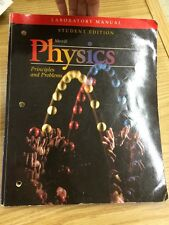 Physics Laboratory Manual : Principles and Problems  Paperback  Student Edition