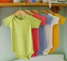 100% Organic Cotton Babygrow / Bodysuit Short Sleeve BN