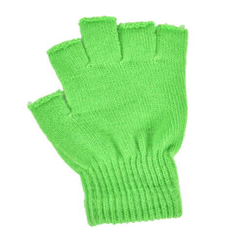 Unisex weiche halbe Fingerhandschuhe Winterwärmer gestrickteHandschuhe ZP