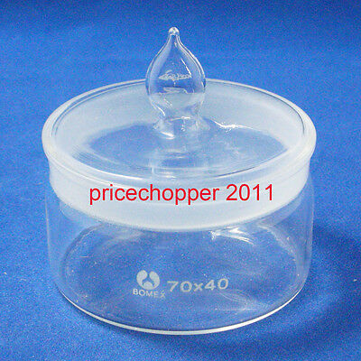 Lab Glass Weighing Bottle, Low Form, 70mmx35mm