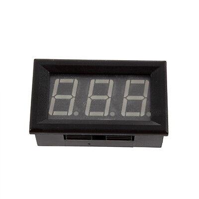 Blue LED Digital Ammeter AMP Mini Current Panel Meter DC 4.5-28V 0-9.99A F5