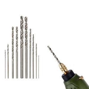 10Pcs-HSS-High-Speed-White-Steel-Twist-Drill-Bit-Set-For-Dremel-Rotary-Tool-F