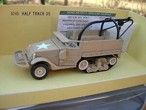 Solido 1/50 Militaire Half Track Us M3 Depanneuse Sable Désert Ref 6245