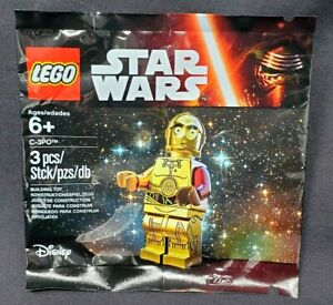 LEGO Star Wars C-3PO with Red Arm Polybag 5002948 NEW Sealed Set