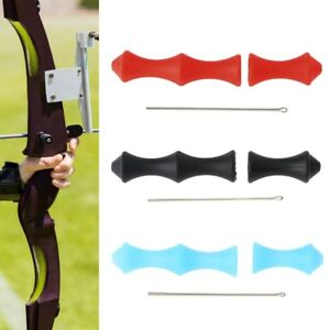 Silicone Archery Target Recurve Bow Shooting Hunting Finger Guard Accessories