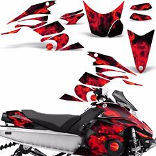 Decal Graphic Kit Yamaha FX Nytro Parts Sled Snowmobile Wrap Decals 08-14 ICE R