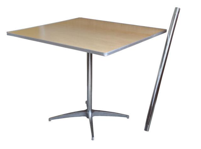 2 cocktail tables 36 square bistro adjustable bar table cafe 2 cocktail tables 36 square wood pub bar cafe bistro table adjustable height watchthetrailerfo