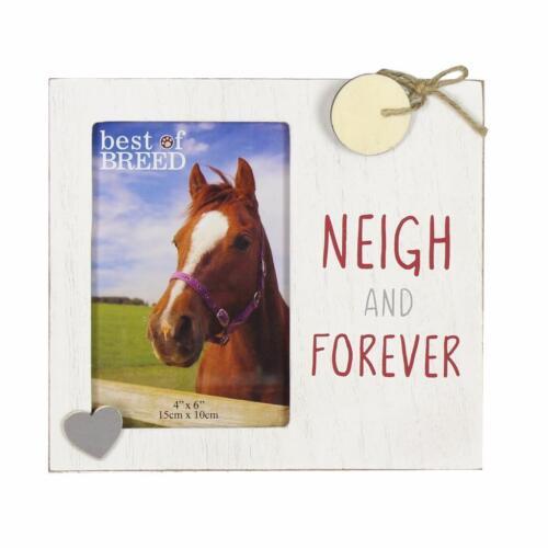 Horse Lover Gift Photo Frame New Boxed Neigh Forever BB325