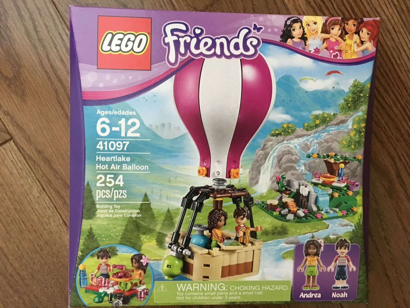 NEW Sealed Lego Friends Friends Friends Heartlake Hot Air Balloon Retired 41097 Age 6 - 12 c17abd