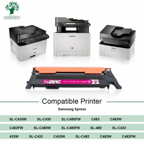 4P CLT-404S CMYK Color Toner For Samsung Xpress SL-C430 C433W C480 C480FN C480FW