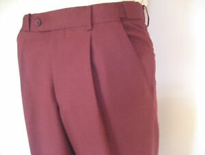 New-City-Club-Men-039-s-Maroon-Trousers-Only-83-with-Free-Postage