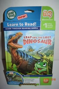 LeapFrog-TAG-amp-LeapReader-Leap-and-the-Lost-Dinosaur-Read-Details-NIP-NEW