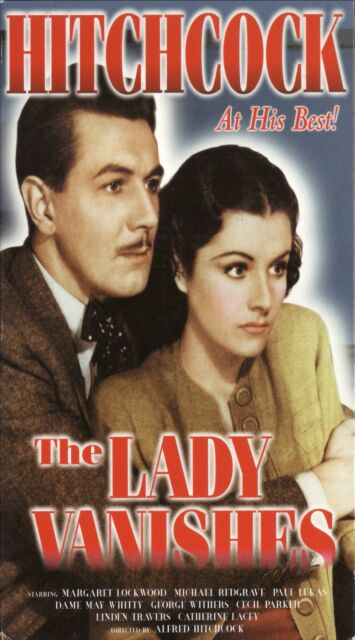 The Lady Vanishes--1938 Alfred Hitchock Film--VHS Video