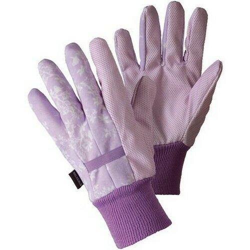 Lilac Medium #1N68 Briers Birds and Branches Water Resistant Garden Gloves
