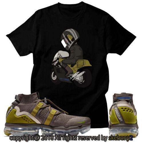 NEW CUSTOM T SHIRT matching Nike Air VaporMax Utility Ridgerock AVPU 1-2-2
