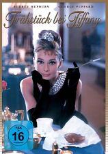 Audrey Hepburn FRÜHSTÜCK BEI TIFFANY breakfast at tiffany's GEORGE PEPARD  DVD