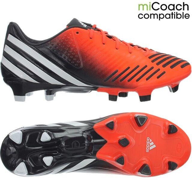 Adidas Predator LZ TRX FG men's professional soccer cleats orangewhiteblack