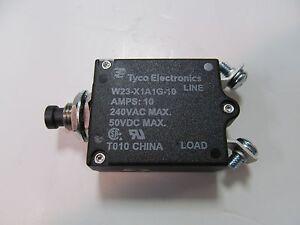 TE Connectivity W23-X1A1G-10 CIRCUIT BREAKER