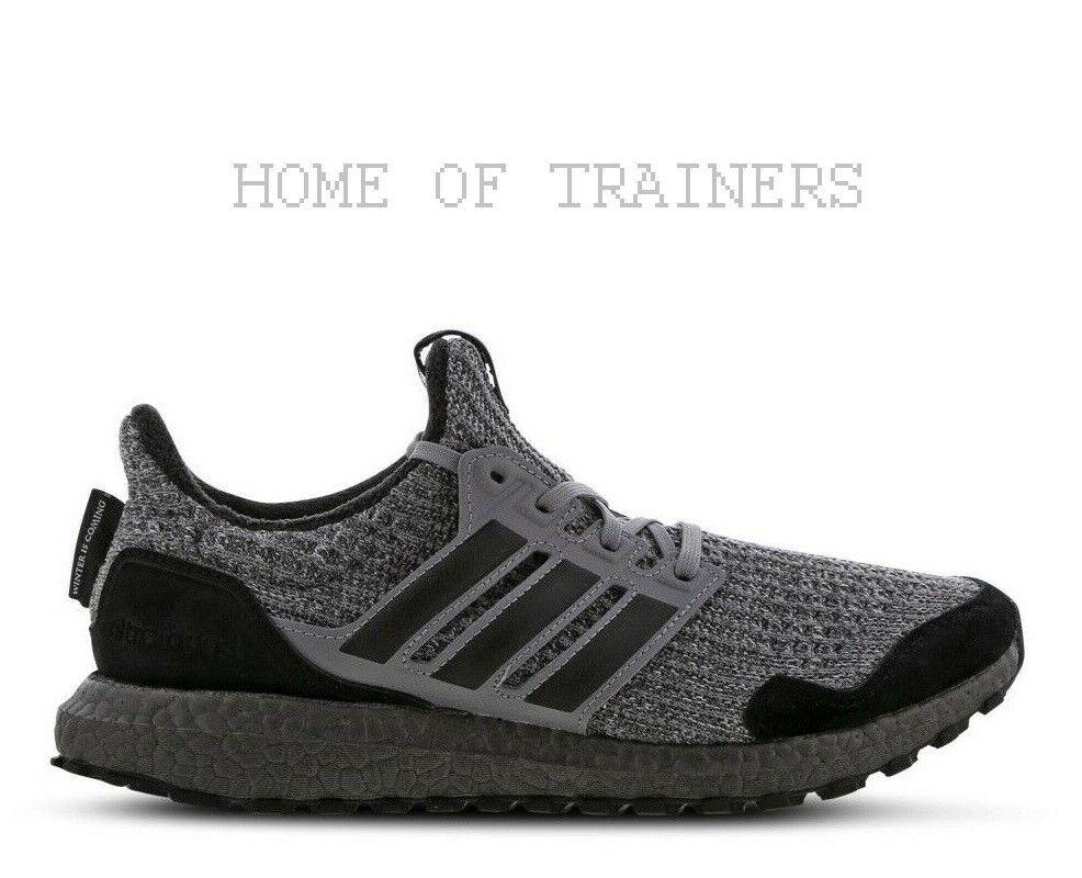 Adidas Ultra Boost X Juego de Tronos Casa Stark Reloj silver Hombre Zapatillas